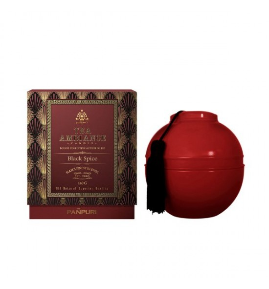 Black Spice Tea Ambiance Candle